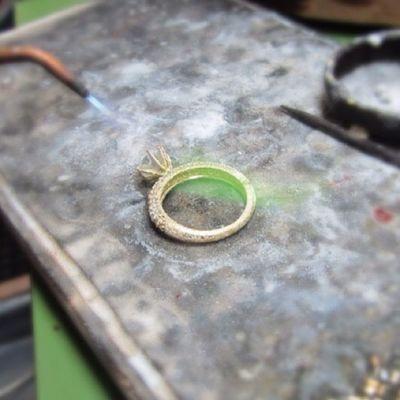 Jewelry Care Experts #Ring #Gold with #Diamond #Handmade #Fine #Art #Jewelry #Care #Experts #instalike #instagood #instanow #AntoineSaliba #Lebanese #Jewelry #Designer #Beirut #Byblos #Lebanon