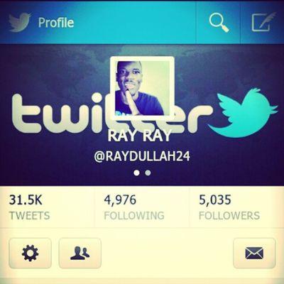 Follow me on twitter @RAYDULLAH24 TeamFollowBack Mustfollow TagForLikes Instagram instalike dope trill