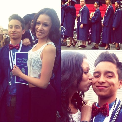 So proud of him today. Favorite senior <3 Graduation My Boys Shawty's