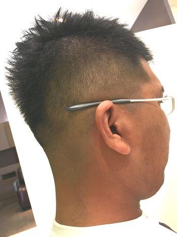 北九州 美容師 Haircut 髪 眼鏡