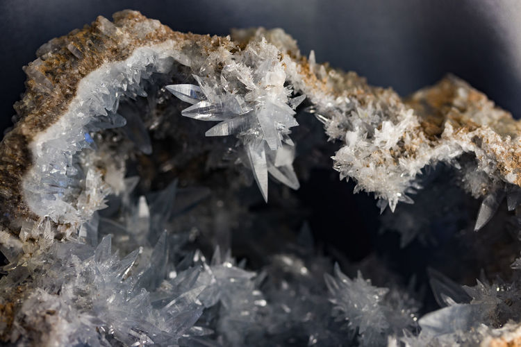 Light Minerals Reflection Rock Tranquility Close-up Crystal Crystals Frozen Gem Stone Gem Stones Geode Geology Mineral Nature No People Refelction  Selective Focus Transparent
