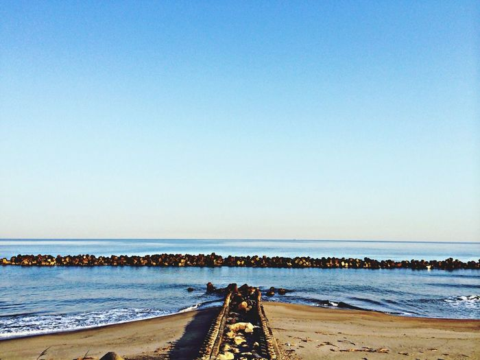 Good Morning Sky And Sea Beach