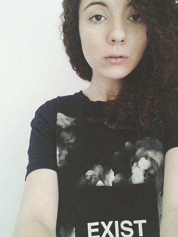 Pale Selfie Portrait Exist Polishgirl Check This Out Young College Girl