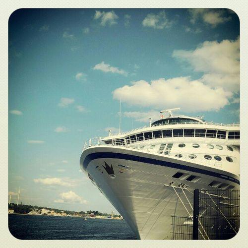Snart ombord