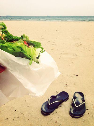 Having a burger on the beach Getting A Tan Sea Enjoying The Sun Burgers