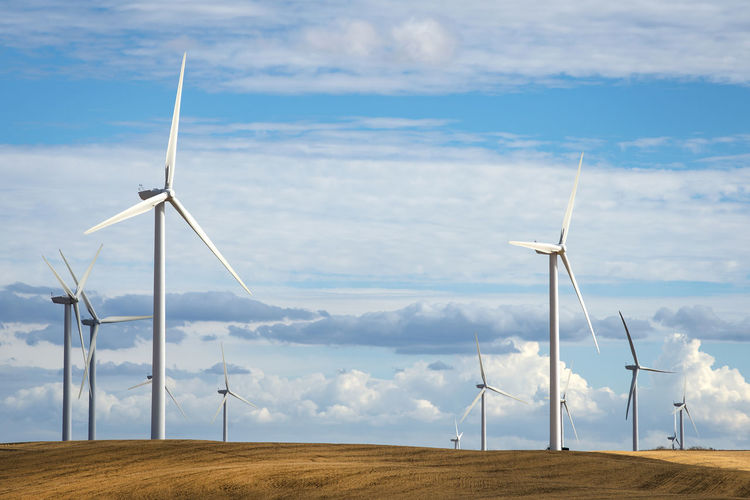 Wind Turbines Wind Turbine Turbine Renewable Energy Fuel And Power Generation Alternative Energy Wind Power Environmental Conservation Environment Cloud - Sky Sky Landscape Technology Land No People Day Rural Scene Outdoors Power Supply Sustainable Resources Horizontal Composition California