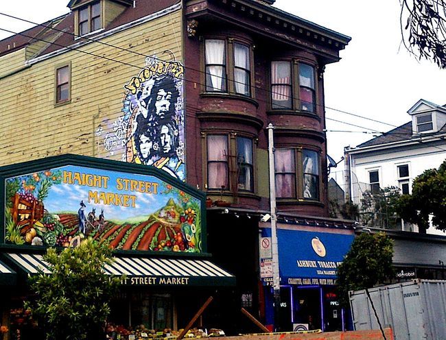 Jimi Hendrix home on Haight and Ashbury, San Francisco, CA Hippie Jimihendrix Music Culture Architecture Cityscapes Check This Out