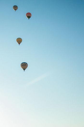 Cappadocia Clear Sky Day Hot Air Balloon Mid-air Outdoors Sky Turkey