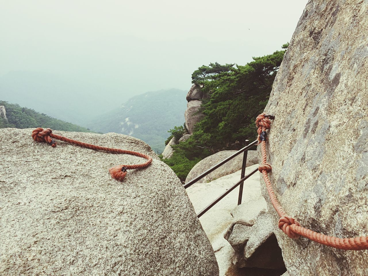 mountain, day, rope, rock - object, adventure, nature, rock climbing, climbing, cliff, outdoors, men, real people, two people, extreme sports, beauty in nature, people