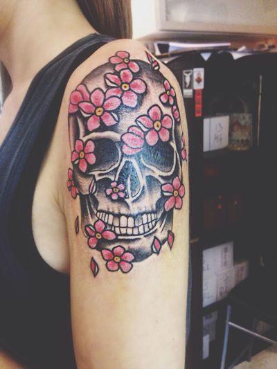 Tattoo... Teschio Messicano Ricordo Foryou Mimanchi❤