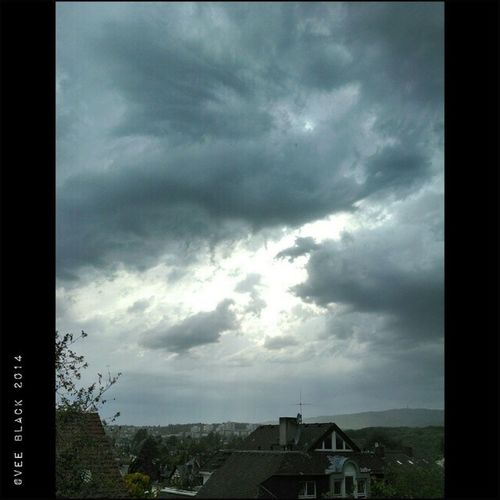 There is a storm around the corner. It's already pretty windy and I saw some raindrops ? Wiesbaden Germany Storm Weatherchange love excited wind relieve headache