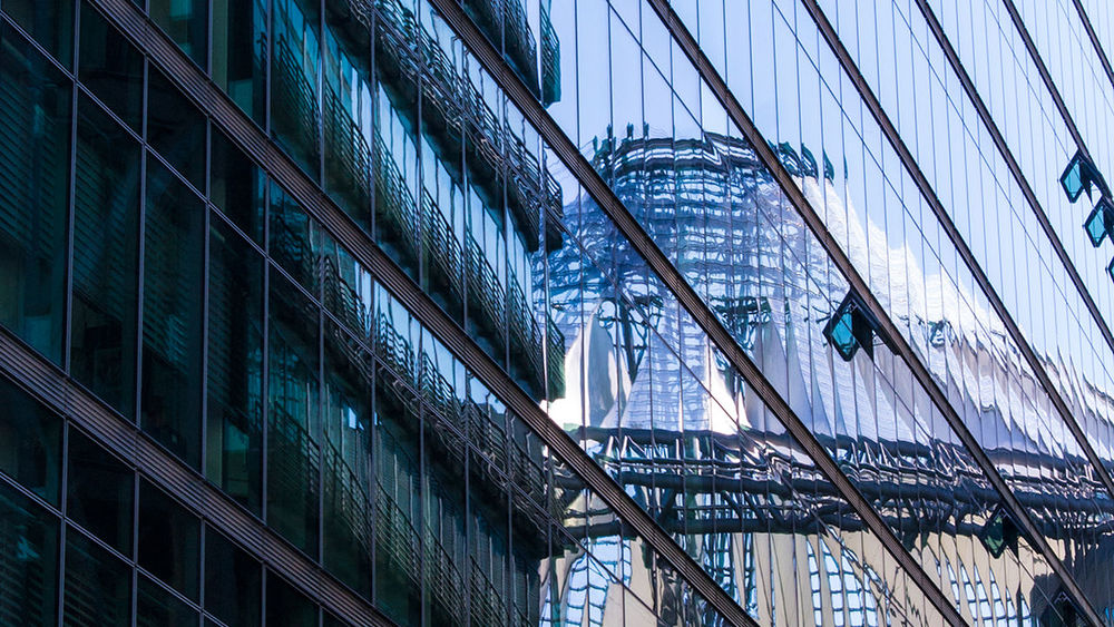 Architecture Berlin Building Exterior City Cj Photography Glas Und Stahl Reflection Spiegelung