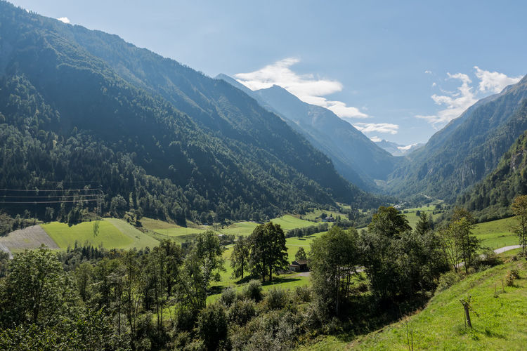 Gebirge Himmel Hohe Tauern Landschaft Pinzgau Salzburger Land Wolken Kaprun Tag Wandern Österreich