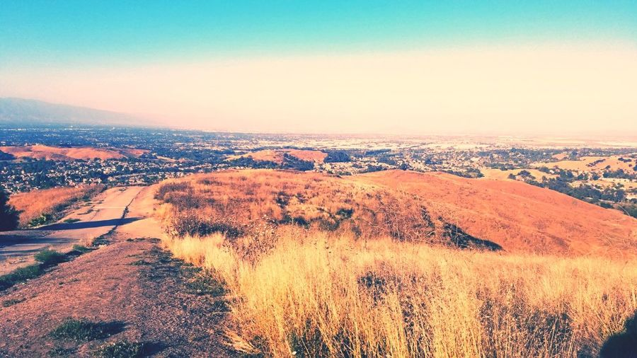 Yesterdays view. Chino Hills, California Seven City Views. Nature Outdoors Trails My Photography Nature Day Leaf Monday Funday. Day Off. Love To Hike Hiking Trails. Blue Cloud - Sky