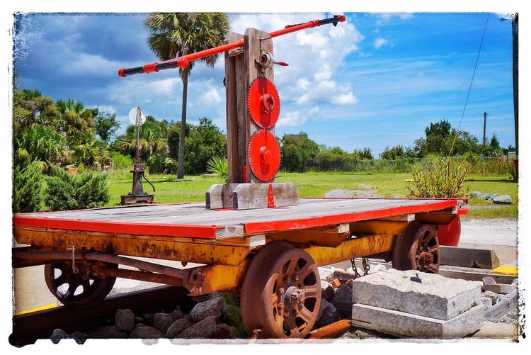 Transportation Land Vehicle Handcar Pump Trolley Express Railway Station