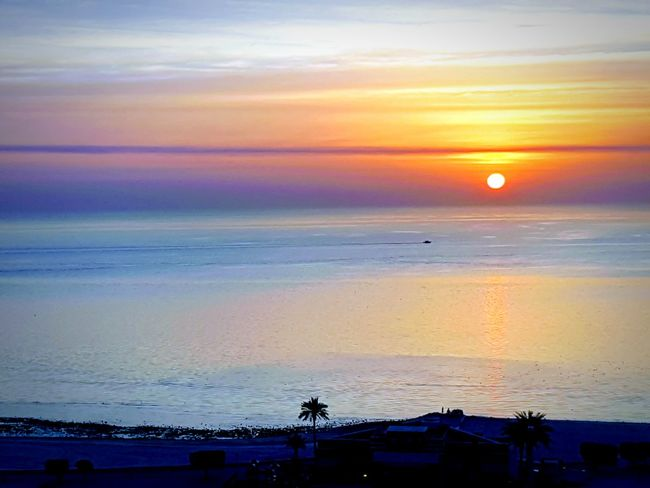 Kuwait city Sunset Sea Beauty In Nature Beach Scenics Nature Water