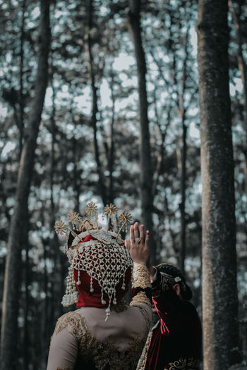 EyeEm Best Edits EyeEm Best Shots EyeEm Nature Lover EyeEm Selects EyeEm Gallery EyeEmBestPics EyeEmNewHere Love Wedding Adult Costume Day Focus On Foreground Forest Men Nature Outdoors People Plant Real People Rear View Tree Women WoodLand A New Beginning