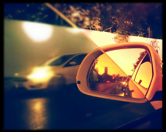 Frommycamera Frommyphone Frommywindow From My Point Of View Endoftheday Todaysphotoshoot Todaysphoto Istanbul Istanbul Turkey Istanbuldayasam Istanbul City Illuminated Car Sunset No People Photography Themes Indoors  Close-up Day