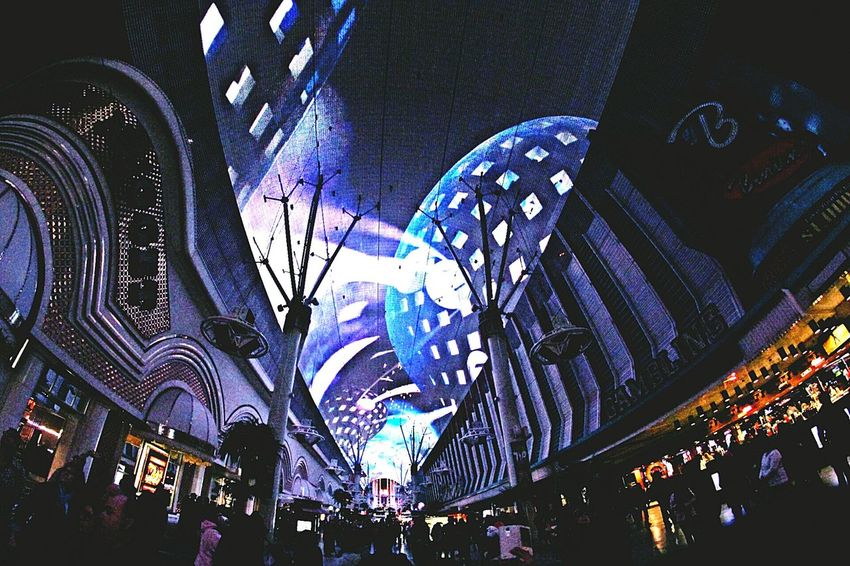 Best Christmas Lights Christmas light show Freemont street.