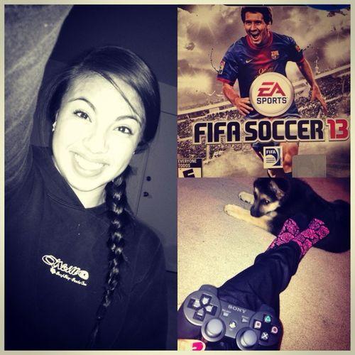 Playing FIFA13