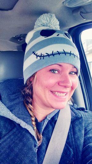 I love my new Jack Skellington hat :)