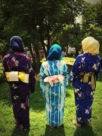 Ultimate Japan Love_Japan🇯🇵 Yukata_HiJab❤️ Beautiful ♥ Aali🐣