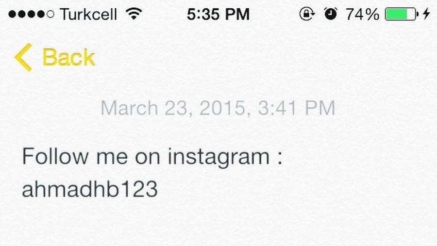 Mersin Turkey Follow Me Followback Instagram Mezitli Merhaba