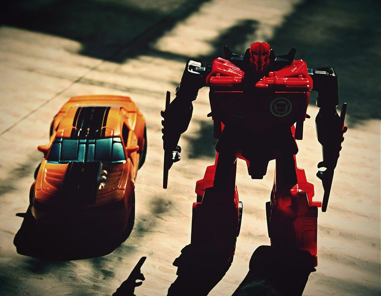 I got rolled up on by Bumblebee and Sideswipe...Dam! Taking Photos Photos Around You Having Fun Toysphotography