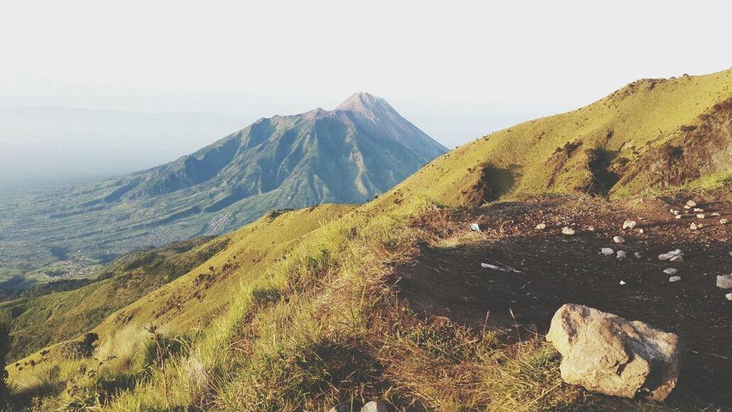Mountain Merapi INDONESIA Java
