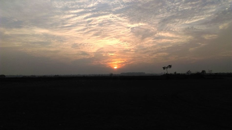 Sunset Halfsun Cloud Goodvibes✌️ 43GoldenMoments