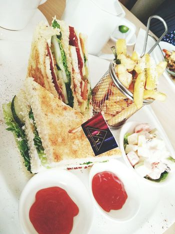 🍴 #sandwich #myphotography Table Close-up Food And Drink