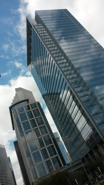 Skyscraper Architecture Building Exterior City Modern Low Angle View Built Structure Sky Office Building Exterior No People Downtown District Tower City Life Cloud - Sky Outdoors Financial District  Urban Skyline Cityscape Day Snaplife SnapshotDope ImBlessedTho VSV City Life Cityscape