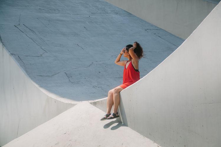 Lady in the Red Dress AMPt_community Eye4photography  EyeEm Best Shots Portrait Taipei Taiwan VSCO Vscocam