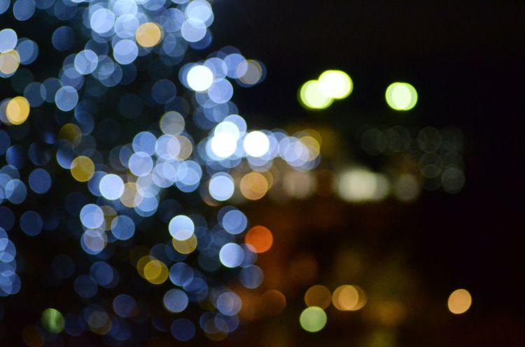 玉ボケ Night Lights キラキラ