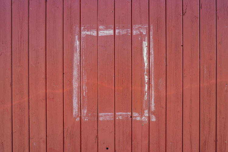 Architecture Backgrounds Brown Built Structure Close-up Closed Corrugated Day Door Entrance Full Frame No People Outdoors Pattern Protection Red Safety Security Textured  Wall - Building Feature Wood - Material Wood Grain