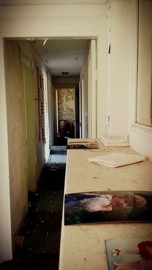 Lost in time. Indoors  Corridor Domestic Room Architecture No People Day Abandoned Places Destruction Creepylife Building Exterior Abandoned Nature Urban Decay