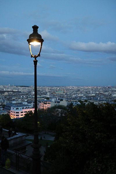 Lighting Equipment Architecture Street Light Sky Illuminated Cityscape Built Structure Building Exterior Cloud - Sky No People Outdoors City Day Nature City City Life Paris, France  Monmartre Mood Vibes Trip View Life Daliy Beauty In Nature Sommergefühle