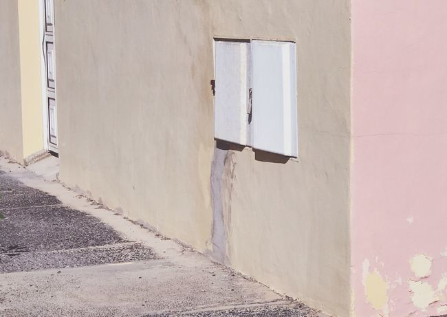 Architecture Door Built Structure Building Exterior Day Window No People Outdoors Doorway Open Door Close-up Architectural Detail Abandoned Buildings Background Backgrounds Wallpaper Abandoned Places Faded Beauty Faded Color Pink Color Soft Colors  Pastel Colors