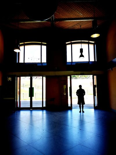 Access Doors The Man At The Door Transfer light