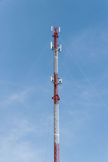 Communication Tower Against Sky