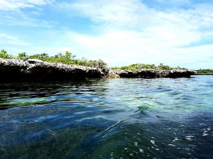 Rock formation in Hoga Island Seagrass, Rocks, Sun, Sea And The Sky Wakatobidiveresort Clear Water Beach Blue Water Beautifull Island Wakatobi