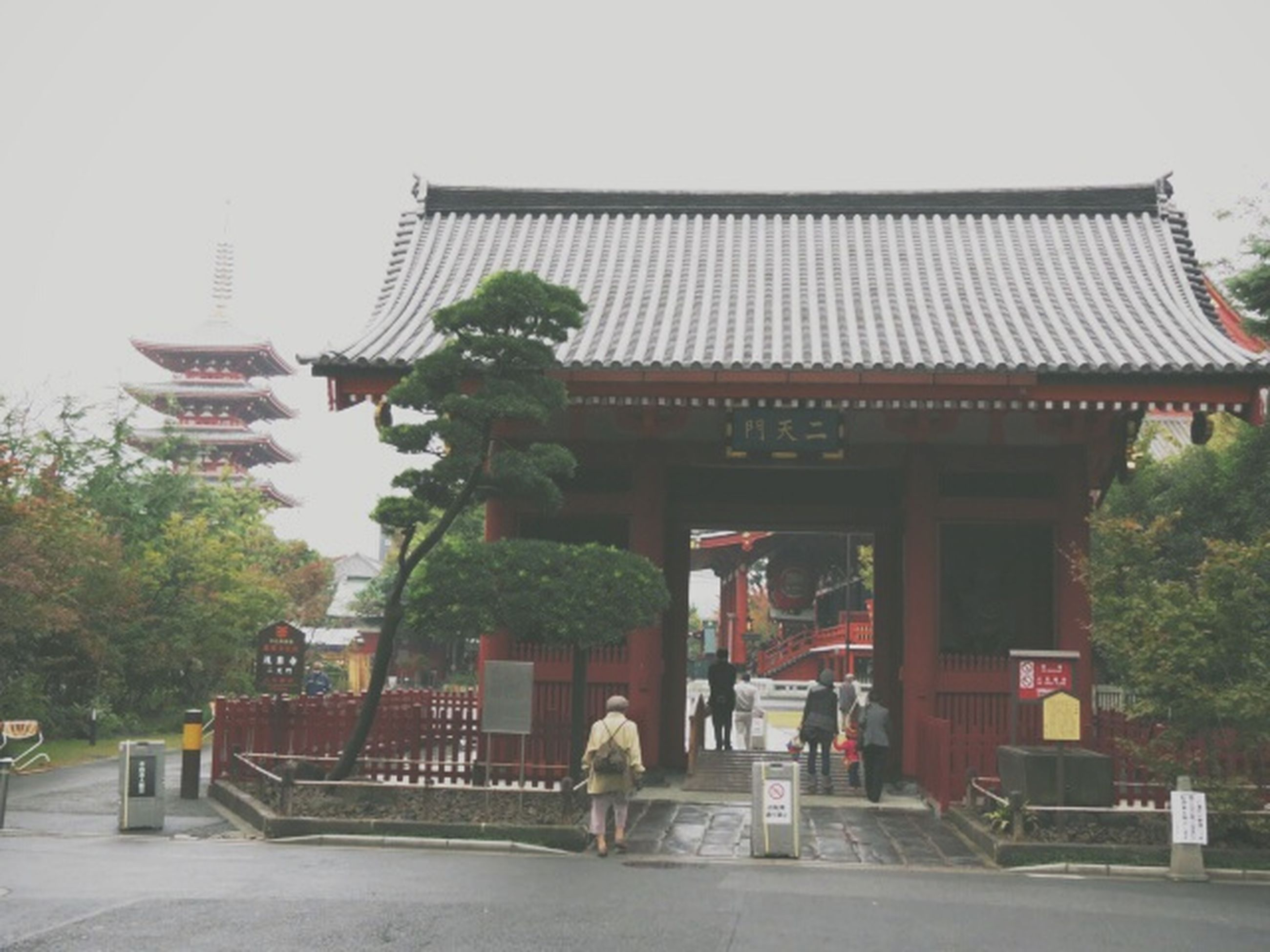 built structure, architecture, building exterior, tree, person, men, lifestyles, religion, temple - building, place of worship, sky, walking, leisure activity, steps, railing, travel destinations, incidental people, spirituality, travel