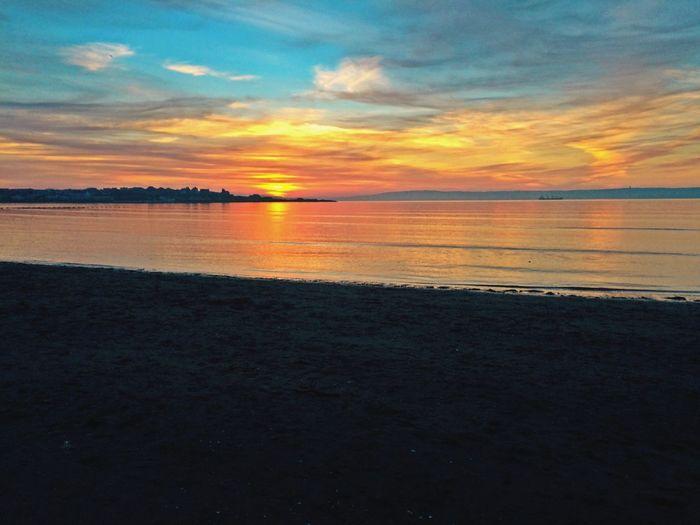 Sunset Bangor N.I First Eyeem Photo
