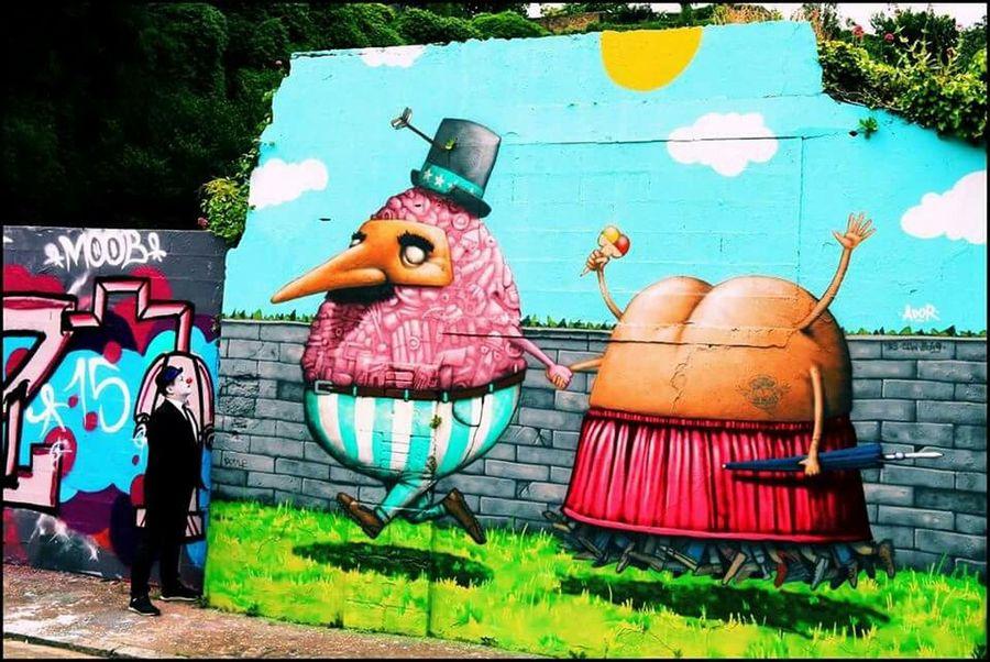 Tags Streetart Graffiti Graffiti Art Street Art/Graffiti Streetphotography Streetphoto_color Colors