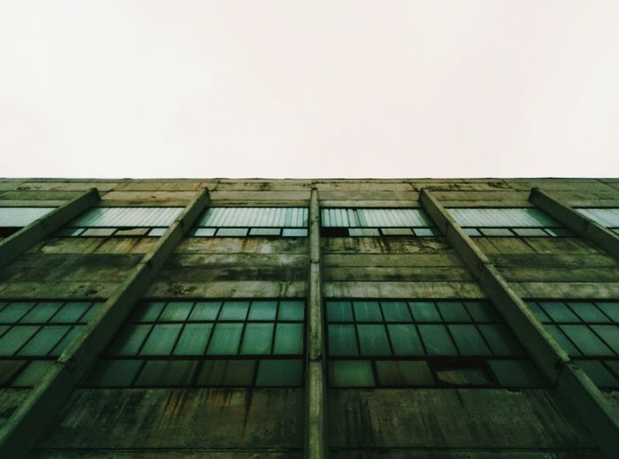 Architecture Façade Built Structure Low Angle View Building Exterior Outdoors Day No People Sky Urban Geometry
