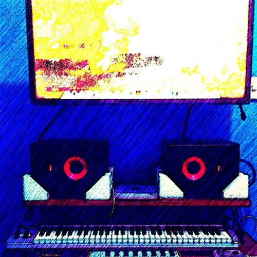 Glitch How I see my studio when I'm in the zone..