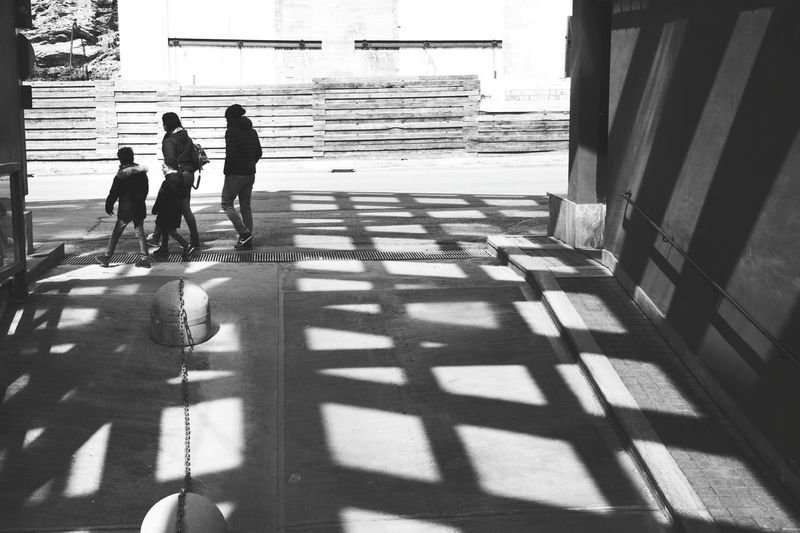 People Family Geometry Photos Around You Point Of View People Photography Street Photography Black And White Light And Shadow Modern Architecture Day Out White Color Walking Poeple In Black Friends Love Lines And Shapes People_bw Taking Photos Lights Geometry Everywhere Sunlight Street Art Streetphoto_bw Streets