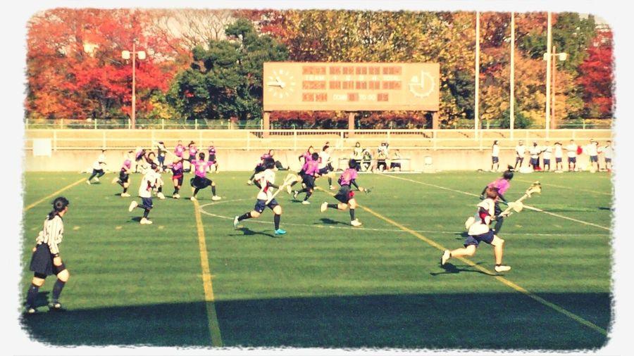 Happy People Lacrosse Game Lacrosse 太田スタジアム