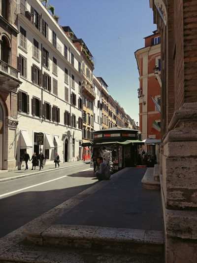 Architecture Building Exterior Built Structure City Day No People Outdoors Rome - Via Del Babuino Sky Street