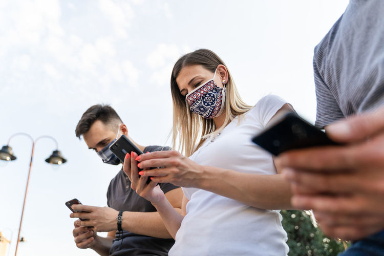 People photographing